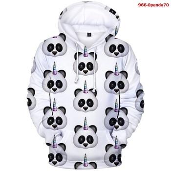 New 3D Hoodies Lovely Panda Men Boys Hoodie Harajuku Casual Sweatshirt Women Oversized Women Girls Hooded Animal Panda Coat недорого
