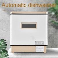 Automatic dishwasher small home use desktop UV high temperature sterilization dish washing machine dishwasher kitchen 220V 2KW