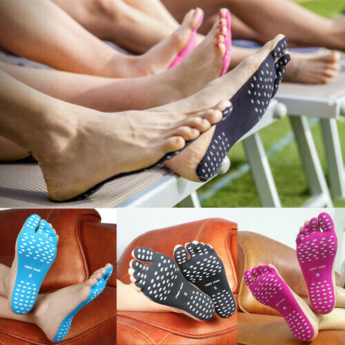 Beach Invisible Anti-skid Insole Outdoor Sticker Shoes Stick On Soles Sticky Yoga Pads For Feet Nakefit Unisex