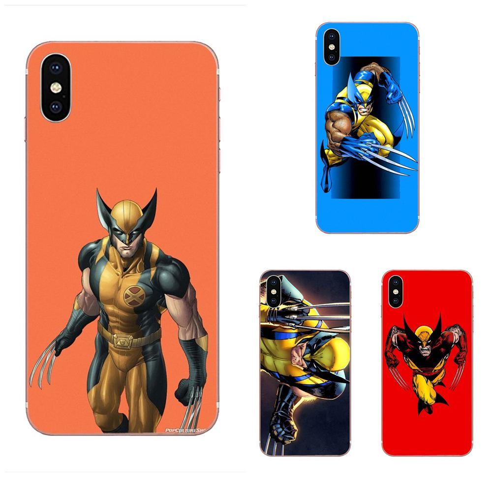 Wolverine Comics Vertical Phone Case For Huawei Nova 2 V20 Y3II Y5 Y5II Y6 Y6II Y7 Y9 G8 G9 GR3 GR5 GX8 Prime 2018 2019 image