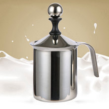 Mini Non Toxic Creamer Coffee Cappuccino Stainless Steel Latte Double Mesh Foamer Stirrer Milk Frother