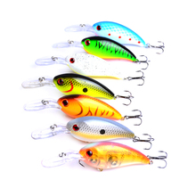 YUZI 1PC Crankbait Fish Hook Trout Bass Pike Fishing Lure 15.2g/10cm Artificial Swimming Tackle