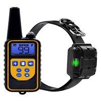 Hund Ausbildung Kragen, Schock Kragen für Kleine bis Große Hund, Elektrische Hund Kragen mit 875 Hof Remote, vibration, Beep Schock