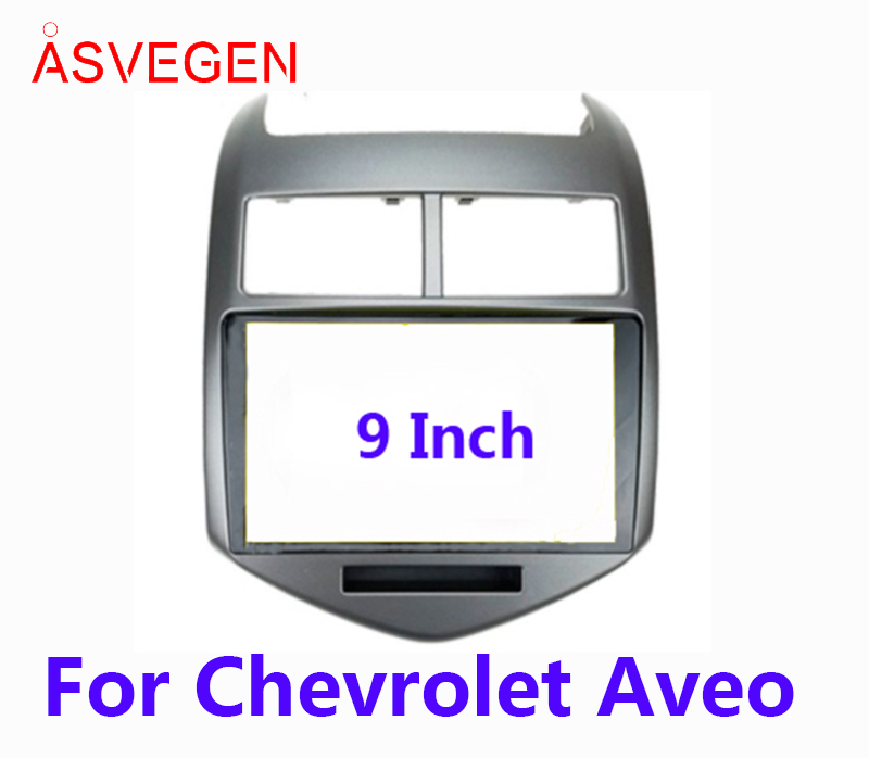 Asvegen Car Radio Fascia Frame For CHEVROLET Aveo Car Dvd Frame Install Panel Dash Mount Installation Dashboard