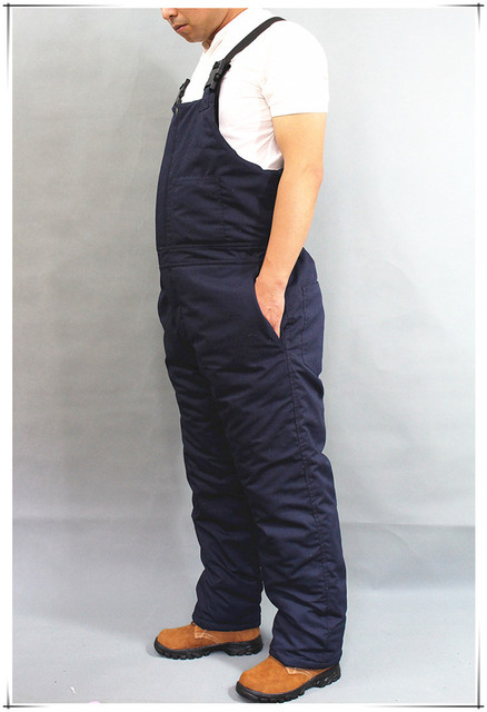Winter Warm Thicken Working Tooling Overalls Male Work Wear uniforms Wear resistant Cold proof Jumpsuits For Worker Repairman 2