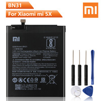 Xiao Mi Original BN31 Batterie Für Xiaomi mi 5X mi 5X redmi hinweis 5A Xiaomi A1 Redmi Y1 Lite S2 ersatz Handy Akku 3080mAh