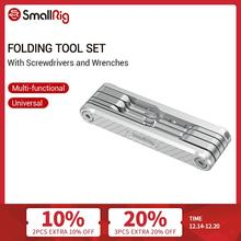 SmallRig Folding Tool Set with Screwdrivers Allen Wrenches Slotted Screwdriver And Torx T25 Driver Tools   2213