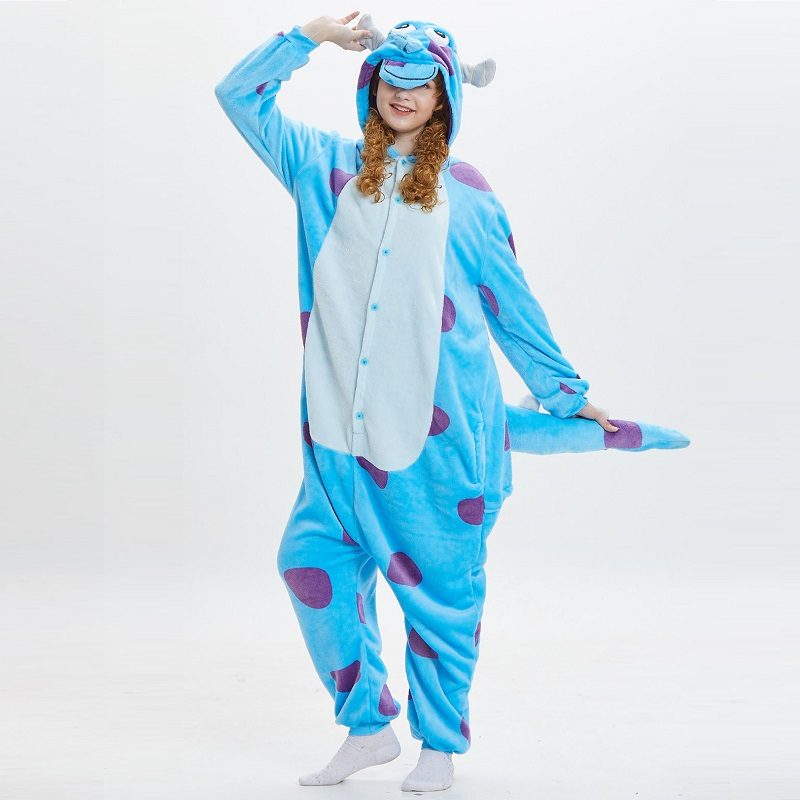 Monster-Inc-Sullivan-Onesies-For-Adults-monstruos-university-Kigurumi-Animal-Pajamas-Flannel-Warm-Long-Sleeve-Hooded (1)