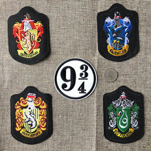 5pcs/lot Railway Station College Embroidery Patches Letters Stranger Things Iron Heat Transfers Clothes Applique