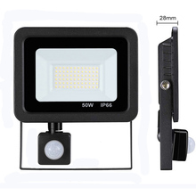 Led 10W 20W 30W 50W projecteur extérieur PIR capteur de mouvement 220V IP66 projecteur extérieur lumière du projecteur à Led réflecteur avec capteur