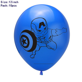 1set 3D Big Spider Supper Hero Man Mylar Foil Balloon Number Foil Balloons Birthday Party Decoration Supplies Children's Gifts 12