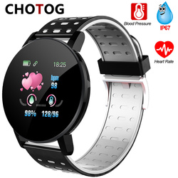 Fitness Bracelet Blood Pressure Measurement Smart Band Waterproof Fitness Tracker Watch Women Men Heart Rate Monitor Smartband