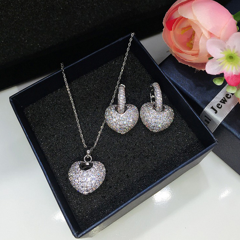 Best Selling Trendy Heart Africa Fashion For Girl Lovers Love Party Gift Jewelry Drop Shipping J5182