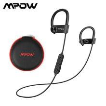 Mpow D9 słuchawki bezprzewodowe Bluetooth 5.0 słuchawki APTX sportowe słuchawki z mikrofonem IPX7 wodoodporne dla Huawei P30 iPhone 11
