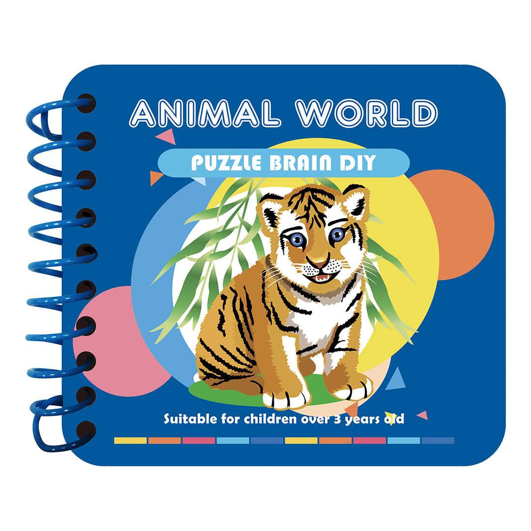 DIY בעלי החיים Hexapod פירות DIY יהלומי ציור ילד פאזל צעצוע ידני תמונה ספר יהלומי רקמת מלאכת ילדי מתנה