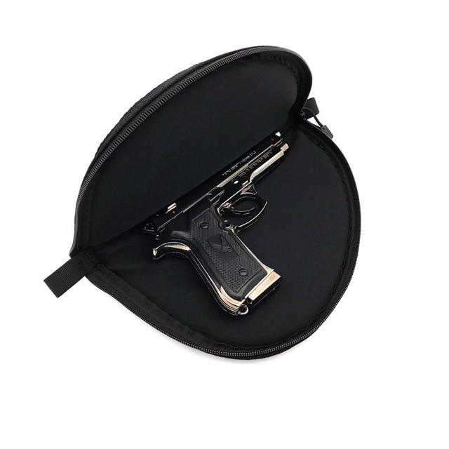 Tactical  Gun Pistol Protector Cover Holster Pistol case Pistol Zipper Storage Case Fit Medium Handgun Gun Bag Key Bag Storage b 3