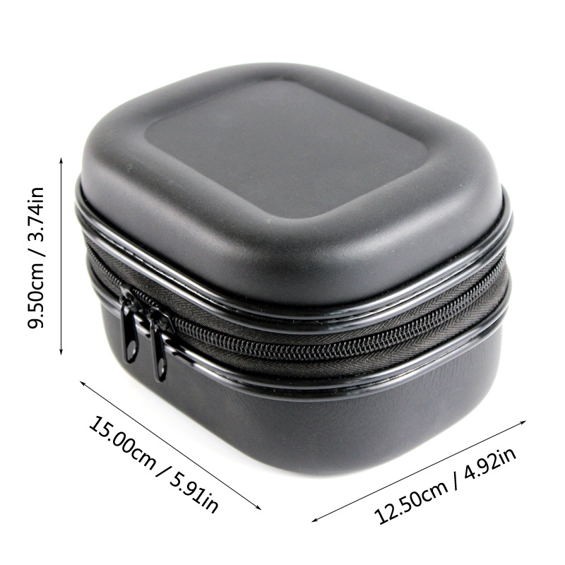 Fishing Bags PU Reel Bag Spinning Reel Case Protective Hard Shell Shockproof Waterproof Cover Storage Case Fishing Tackle