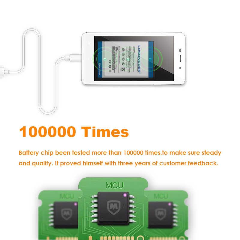 LOSONCOER 3700mAh Bateria para Nokia C2-01 BL-5C C2-02 C2-03 C2-06 X2-01 5130 XpressMusic 6230i 1100 1108 1112 1116 1200 Bateria
