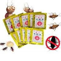 100個ゴキブリキラー粉末ゴキブリ医学家庭用非毒性キッチンゴキブリ殺害餌粉末ゴキブリキラー