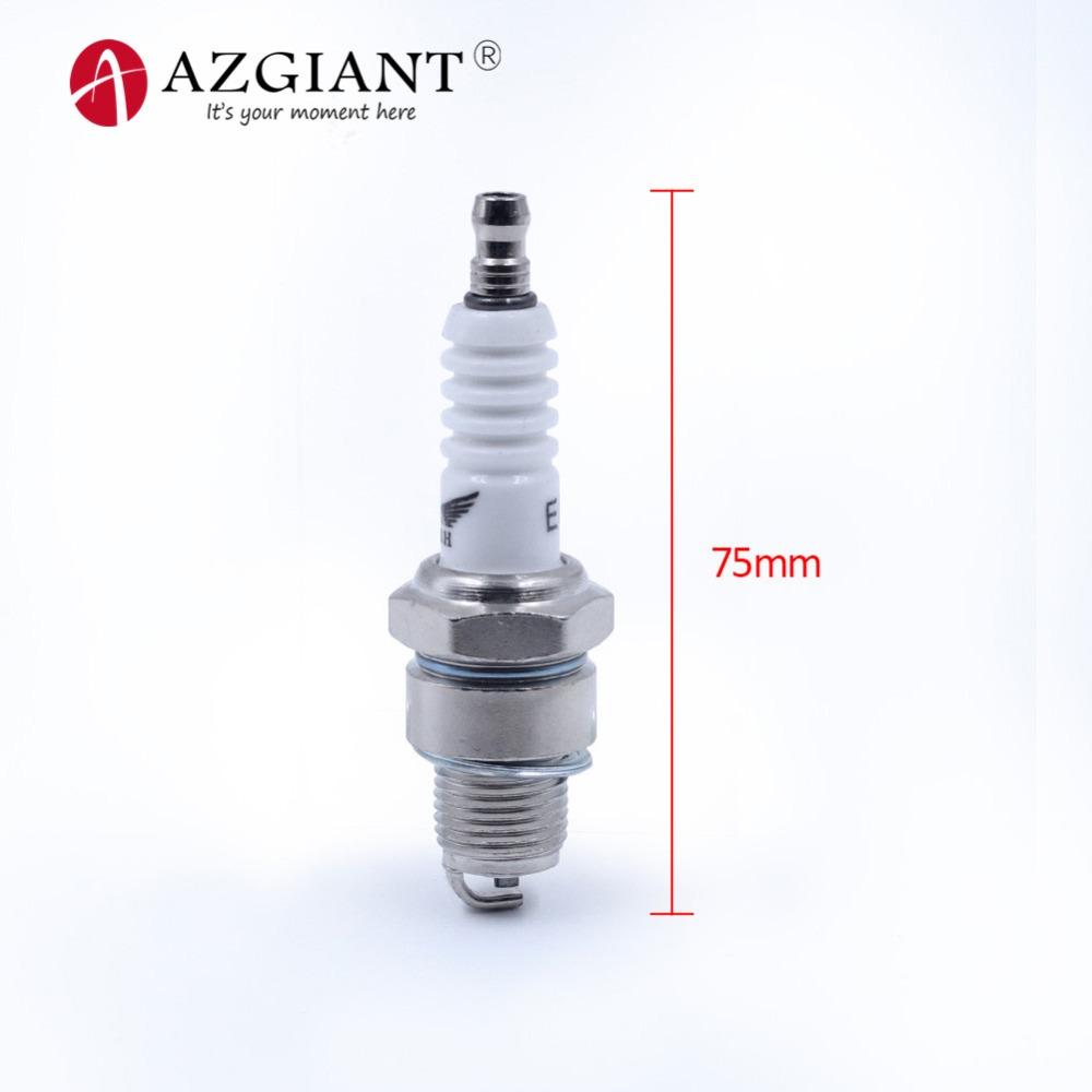 AZGIANT 2 Stroke Spark Plug E6TC For Yamaha PW50 PW80 PW60 LT50 LT80 For Scooter Moped Ignition Part Motorcycle