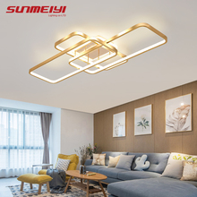 Nordic Led Ceiling Lights Square Dining room Ceiling Lamp with Remote control Modern Kitchen Lighting Dimmable Bedroom luminaria