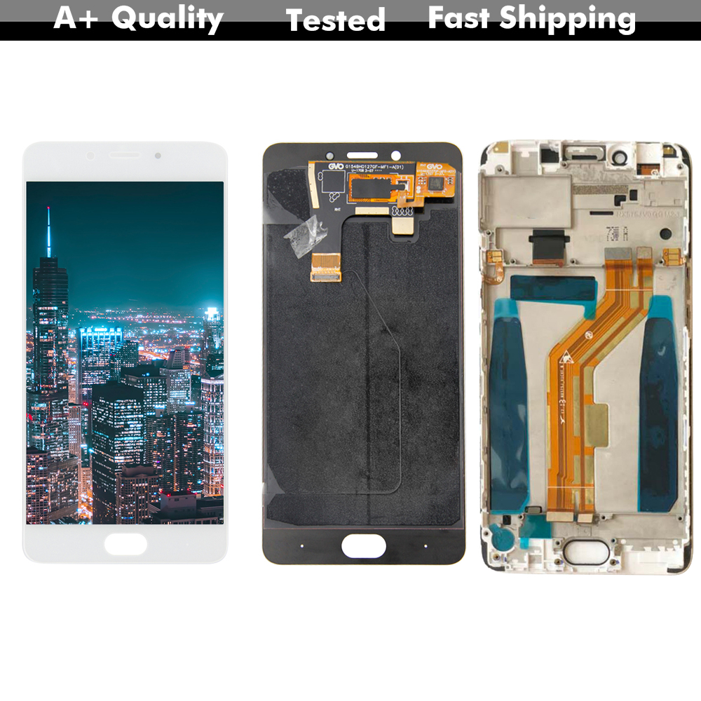 """AAA LCD Display Nubia N2 NX575J 5.5 Inch Touch Screen Digitizer Assembly Sensor For 5.5 """"ZTE Nubia N2 NX575J lcd(China)"""