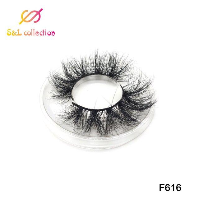 Mink Lashes 3D Mink Eyelashes 100% Cruelty free Lashes Handmade Reusable Natural Eyelashes Popular False Lashes Makeup 2