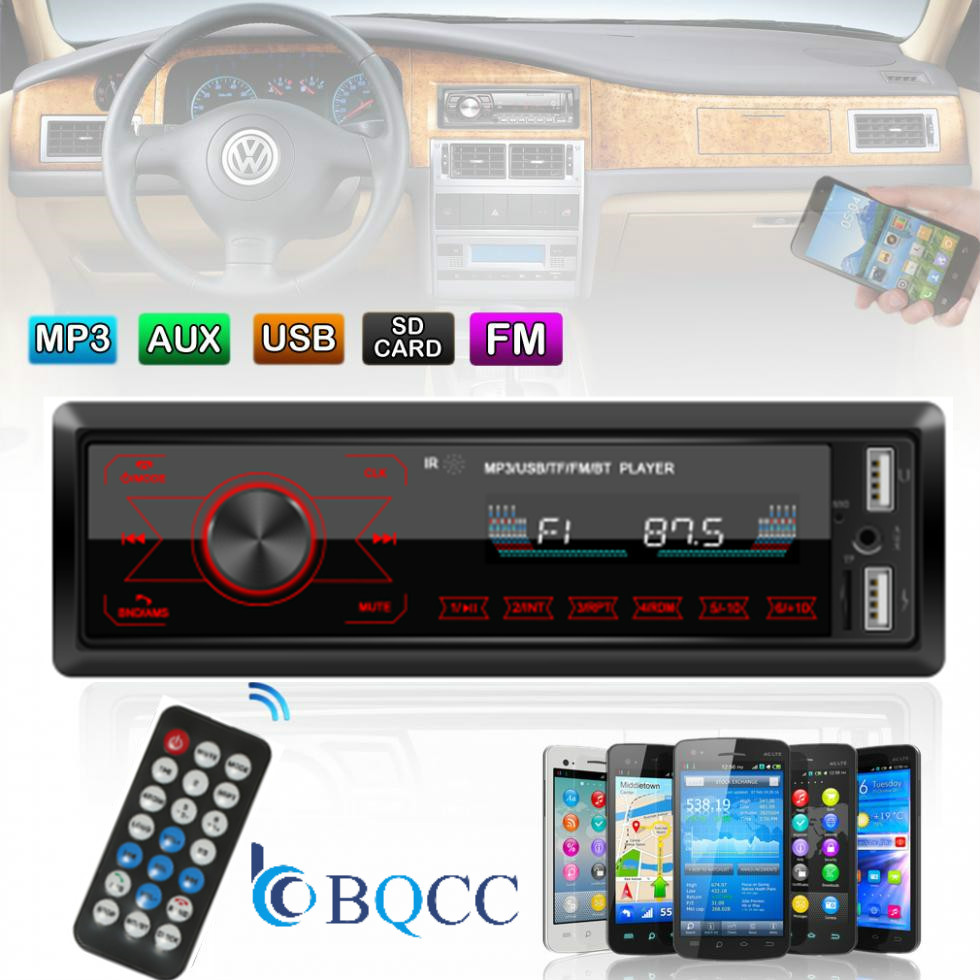 12V Car Radio Touch Player Car Audio Auto Stereo In dash Single 1 Din FM Receiver FM Receiver MP3 with Remote Control|Car Radios|Automobiles & Motorcycles - title=