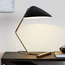 Postmodernistyczna minimalistyczna lampa biurkowa led lampka nocna do sypialni do nauki czytania biuro salon lampy biurkowe Home Deccor oprawa oświetleniowa