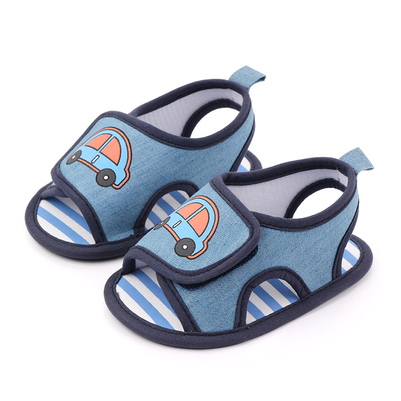 Summer Newborn Baby Girls Breathable Anti-Slip Shoes High Quality Sandals Toddler Girls Soft Soled First Walkers New