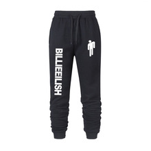Billie Eilish fashion printed guard pants ladies / men's sports 2020 hot-selling casual trendy street style