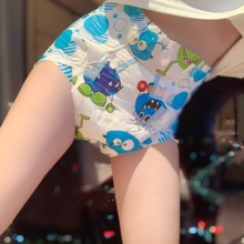 ddlg Adult Diapers large cute little monster adult Baby diapers waterproof and leak-proof abdl disposable diapers L/8PCS