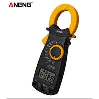 ANENG DT3266F Digital Amper Clamp Meter Multimeter Current Clamp Pincers Voltmeter Ammeter 600A AC/DC Ohm Current Voltage Tester