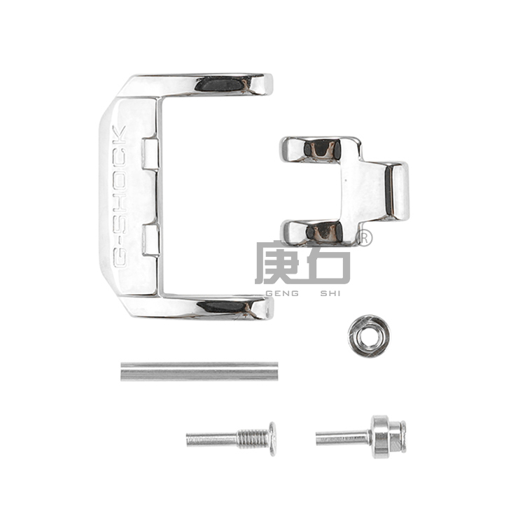 Fivela de aço inoxidável para GX-56BB GXW-56 gx56bb gxw56 acessórios relógio