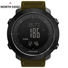 NorthEdge reloj Watch Digital Clock Waterproof Watches Swimming Climbing LED Relogio Military Sport Wristwatches