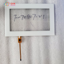 White 7 inch touch screen P/N F-70807-V1 Capacitive touch screen panel repair and replacement parts free shipping new 7 inch touch screen for 4good light at200 tablet computer multi touch capacitive panel handwriting screen free shipping
