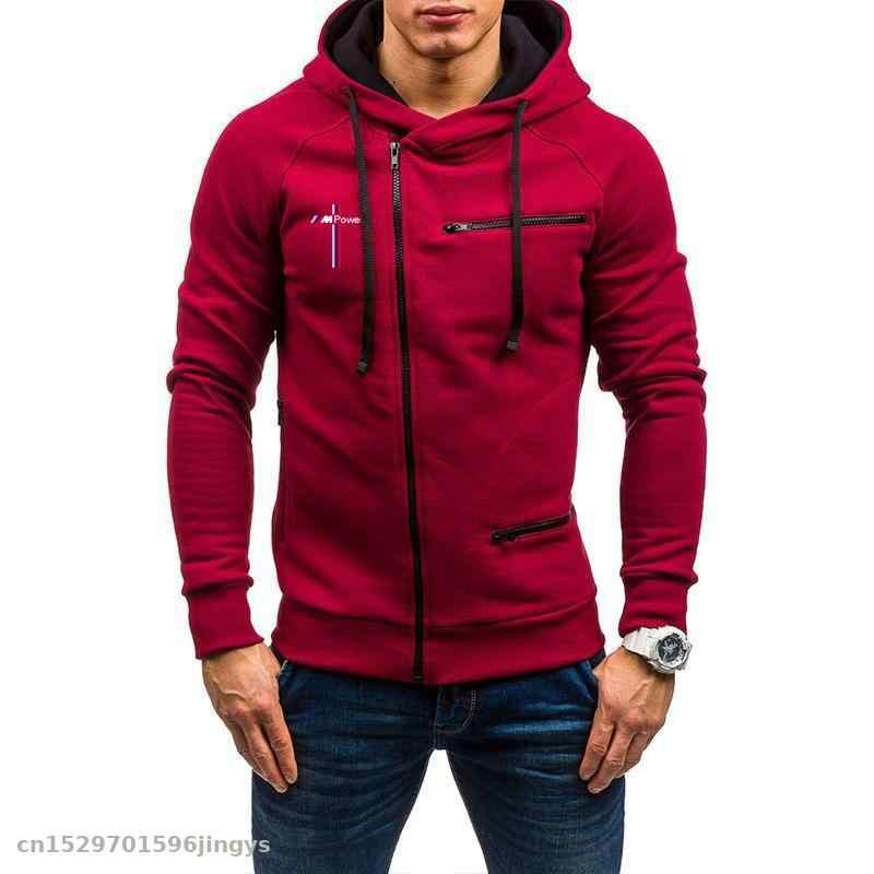 New#Warm Thicken BMW Hoodie Jacket Cosplay Sweater fleece coat Zipper Team Race