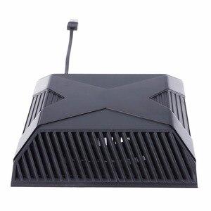 Protable Mini akcesoria do gier konsola do konsoli Xbox One Auto Sensing wentylator chłodzący Port USB podkładka chłodząca do konsoli Xbox One