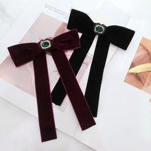 Женский винтажный галстук бабочка в стиле барокко элегантный