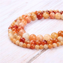 Popcorn Candy Agate Natural Stone Beads For Jewelry Making Diy Bracelet Necklace 4/6/8/10/12 mm Wholesale Strand