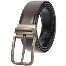 Cowhide Genuine Leather Belts for Men Brand Male Pin Buckle Jeans Mens Belt Luxury Designer Good Quality