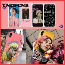 YNDFCNB Hip Hop Rapper Lil Peep Custom Soft Phone Case for iPhone 8 7 6 6S Plus X XS MAX 5 5S SE XR 11 11pro promax(China)