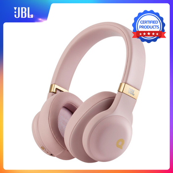 JBL E55BT QUINCY Edition Wireless Bluetooth Portable Audio Headphones HiFi Over-Ear Headset Stereo Sound Music with Microphone