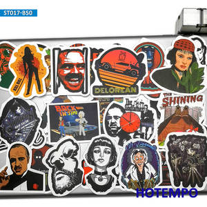 Image 5 - 50pcs Classic Movie Fight Club Godfather Mix Graffiti Stickers for Mobile Phone Laptop Luggage Pad Case Skateboard Decal Sticker