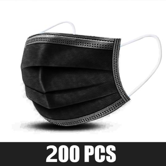 200 pcs Black
