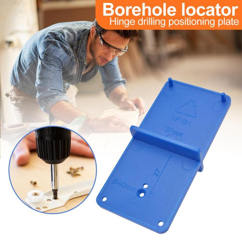 35mm 40mm Woodworking Punch Hinge Hole Drilling Guide Locator Hole Opener Drill Bit Hole Tools Door Cabinets Woodworking Tools