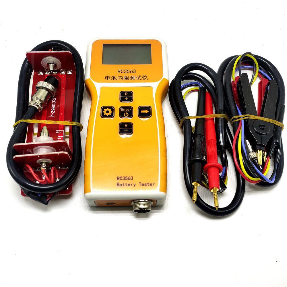 RC3563 Battery Internal Resistance Tester Detector Lithium Nickel Chromium Lead Acid Battery Micro-Eurometer