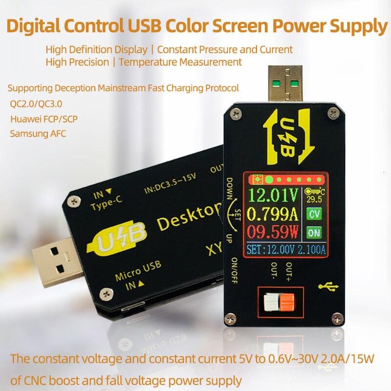 XY-UDP цифровой USB DC преобразователь CC CV 0,6-30V 5V 9V 12V 24V 2A 15 Вт Мощность модуль для рабочего стола регулируется Мощность питания
