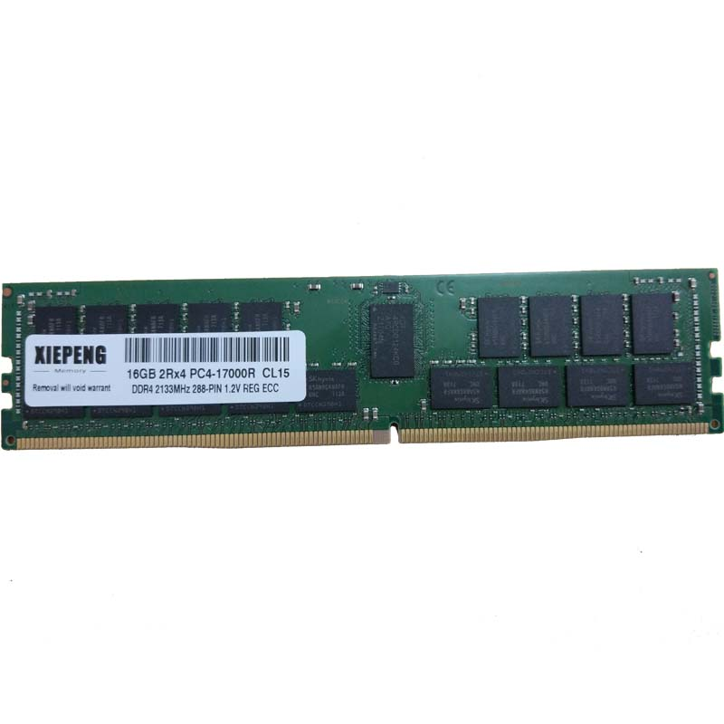 for Dell Precision Tower 5810 7910 7810 <font><b>RAM</b></font> <font><b>32GB</b></font> PC4-19200 2400MHz ECC Registered 8GB PC4 19200 16GB <font><b>DDR4</b></font> 2133MHz Reg ECC memory image