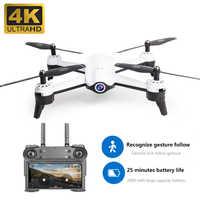 S165 Drone 4k kamera hd 1080p optyczna regulacja przepływu podwójna kamera Dron gps drone Quadcopter 25 minut długa żywotność składana zabawka